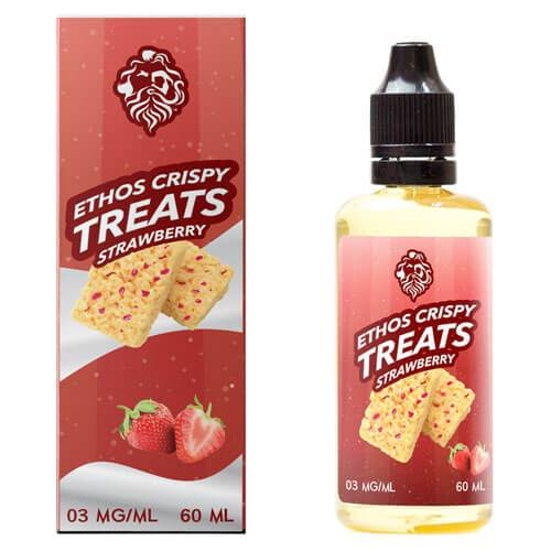 Ethos Crispy Treat Strawberry Flavour